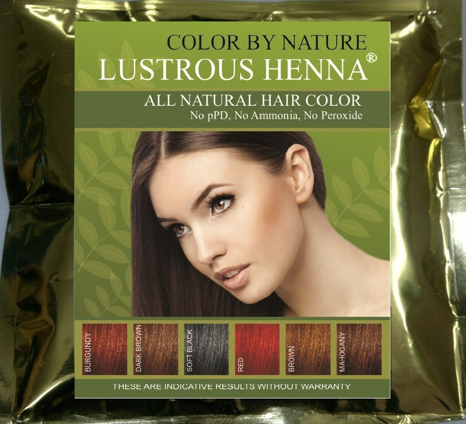 Brief Description Of The Ingredients Of Lustrous Henna
