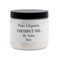 Coconut Oil Pure Organic 6oz