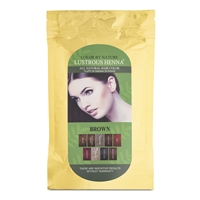 Color By Nature Lustrous Henna Brown -100 grams