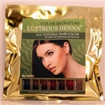 Color By Nature Lustrous Henna Blonde -100 grams