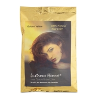 Color By Nature Lustrous Henna Golden (Yellow) -100 grams