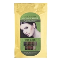 Color By Nature Lustrous Henna Soft Black -100 grams