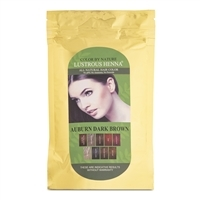Color By Nature Lustrous Henna Auburn Dark Brown - 100 Grams