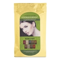 Color By Nature Lustrous Henna Burgundy - 100 Grams