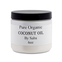Coconut Oil Pure 6oz